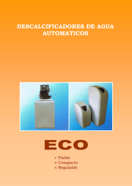 Folleto Gama Eco