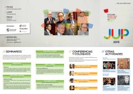 // seminarios // CONFERENCIAS Y COLOQUIOS // OTRAS