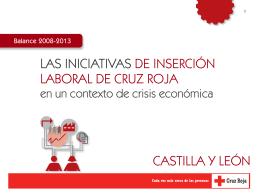 las iniciativas de inserción laboral de cruz roja castilla y león