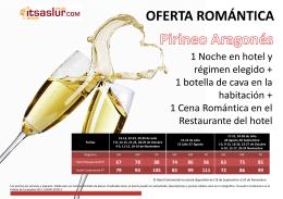 OFERTA ROMÁNTICA