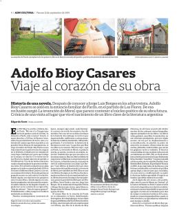 Adolfo Bioy Casares Viaje al corazón de su obra