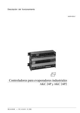 Controladores para evaporadores industriales