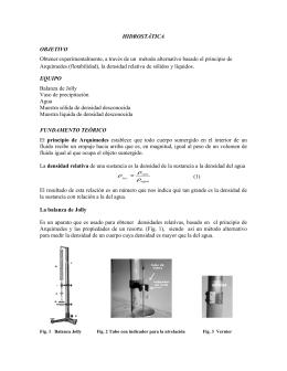 Hidrostatica - Blog de ESPOL - Escuela Superior Politécnica del