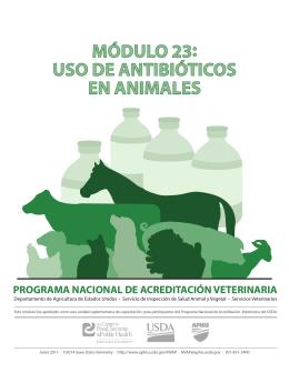 uso de antibióticos en animales - The Center for Food Security and