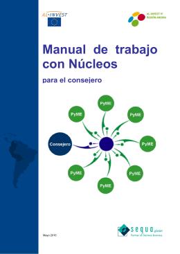 Manual de trabajo con Núcleos para el consejero, Mayo 2010 (2,5 MB