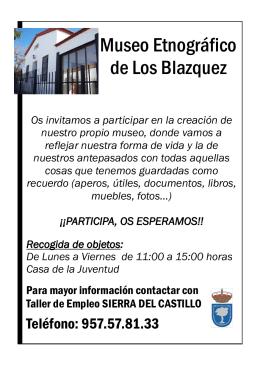 Museo Etnográfico de Los Blazquez
