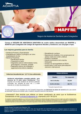 Asistencia sanitaria colegiados