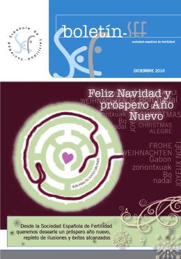 Diciembre 2010 - Sociedad Española de Fertilidad