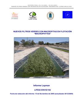 Informe Layman - Fundación Global Nature