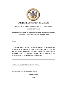 índice general - Repositorio Universidad Técnica de Ambato