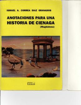 HISTORIA DE CIENAGA