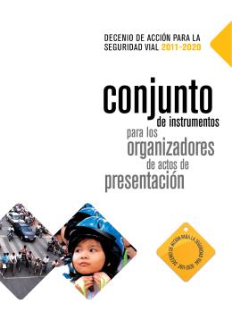 organizadores presentación