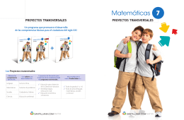 Matemáticas 7 - Liceo Avenida Las Americas