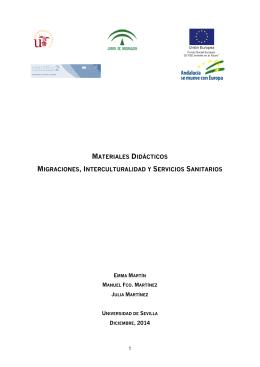 Migraciones, interculturalidad y servicios