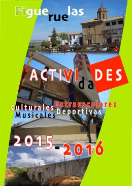ACTIVIDADES 2015-2016 02SEP2015 2