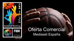 oferta comercial mundial de baloncesto 2014