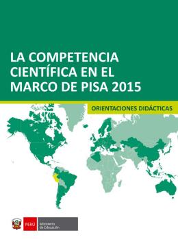 2.2 La Competencia científica en PISA 2015