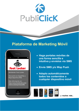 Plataforma de Marketing Móvil