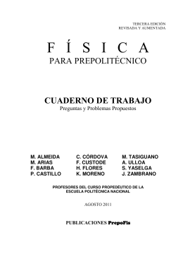 F Í S   I   C   A - Repositorio Digital EPN