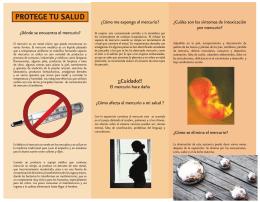 El mercurio y los daños a la salud
