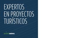 Folleto Turismo Innova - Asociación de Maîtres y Profesionales de