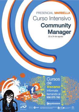 Curso Intensivo Community Manager