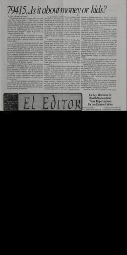La Ley Mexicans De DoubleNacionalidad Tiene Repercusiones En