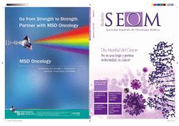 REVISTA SEOM OKOK.indd - Sociedad Española de Oncología