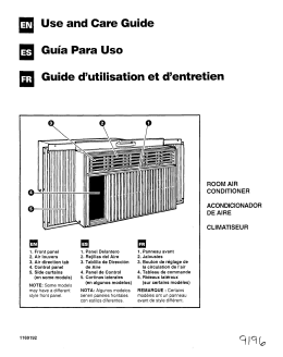 a Use and Care Guide Guia Para Uso a Guide d