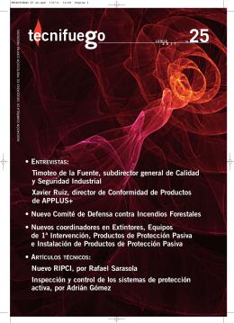 Revista Tecnifuego nº 25 - Tecnifuego