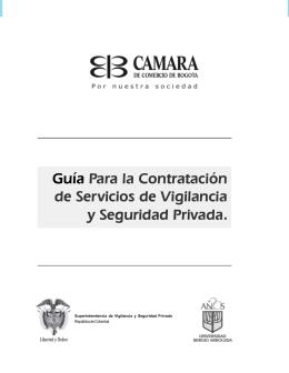 Guía Para la Contratación de Servicios de Vigilancia y Seguridad