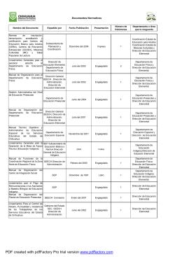 Documentos Normativosmodificado