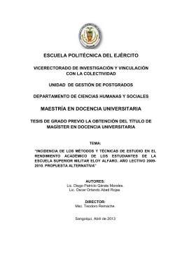 TESIS Msc. Doc. Univ. - Repositorio Digital ESPE