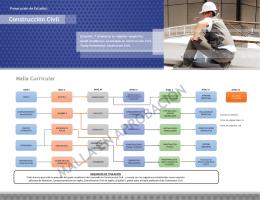 malla en aprobación - Departamento de Ingeniería en Obras Civiles