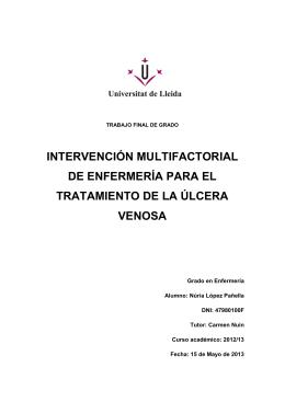 intervención multifactorial de enfermería para el