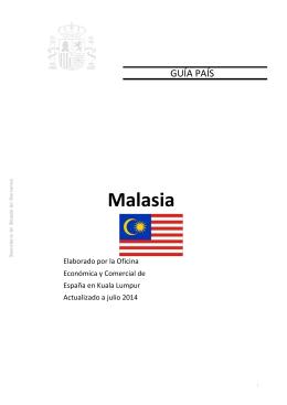 Así, cuando en Malasia
