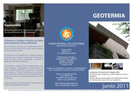 28 Jun 2011 Madrid ES - UEG (Unión española de geotermia)
