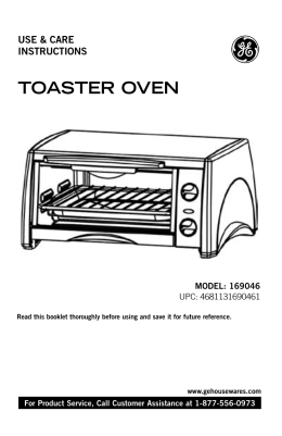 TOASTER OVEN - Pdfstream.manualsonline.com