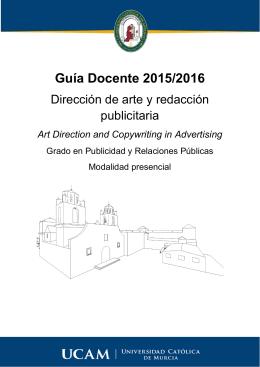 Dirección de Arte y Redacción Publicitaria