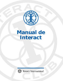 Manual de Interact - Interact Puebla Centro Historico
