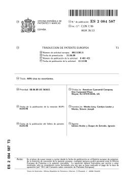 VIRUS RNA NO REVERSIBLES(ES2084587)