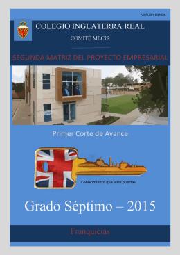 Grado Séptimo – 2015