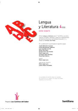 Lengua y Literatura 4ESO