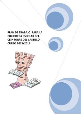 Plan de Trabajo curso 2013/14