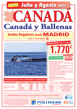 OFERTAS 2014 - Viajes Marago