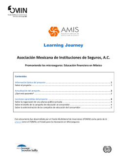 AMIS Learning Journey