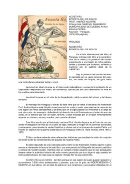 Andrés Aguirre - Acosta Ñú, epopeya de los siglos