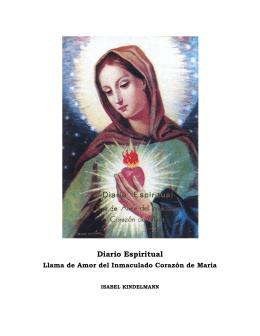 Diario Espiritual - Apariciones de Jesús y María