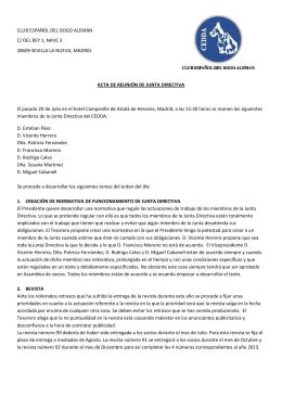 CLUB ESPAÑOL DEL DOGO ALEMÁN C/ DEL REY 1