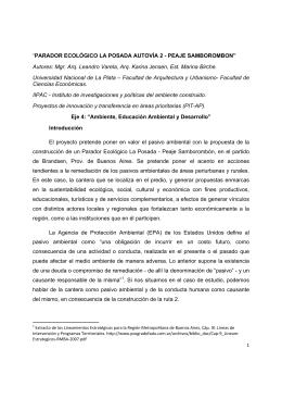 """""""PARADOR ECOLÓGICO LA POSADA AUTOVÍA 2"""